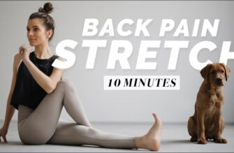 Back Pain Relief Stretches   10 min. Yoga for Relaxation & Recovery